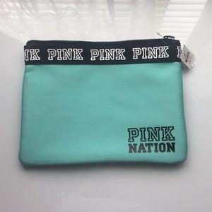 NWT Victoria's Secret PINK Zip Bag